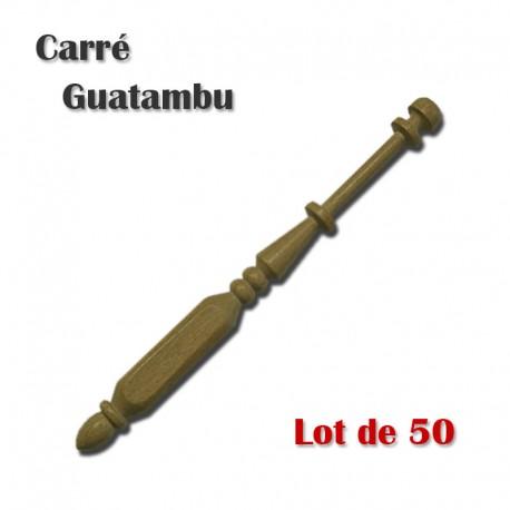 FUSEAUX CARRES GUATAMBU LOT DE 50