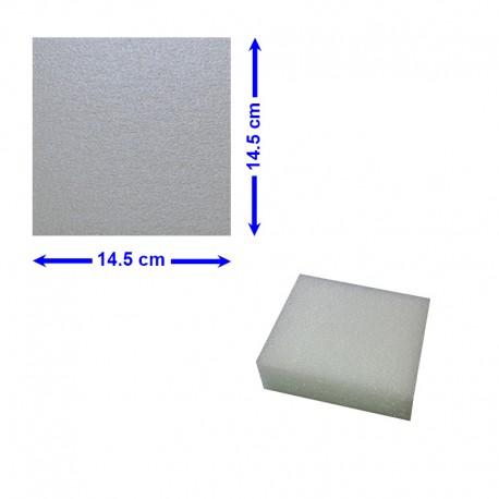 BLOC POLYETHYLENE 14,5 X 14,5 X 5 cm