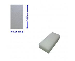 BLOC POLYETHYLENE 14,5 X 7,25 X 5 cm