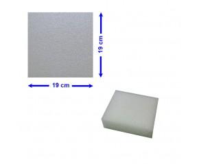 BLOC POLYETHYLENE 19 X 19 X 5 cm