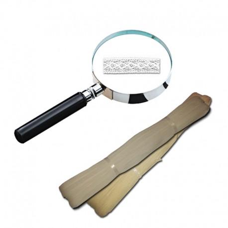 LACET FANTAISIE 8 mm BLANC