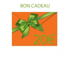 BON CADEAU 20 €