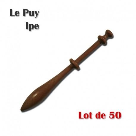 FUSEAUX LE PUY IPE LOT DE 50