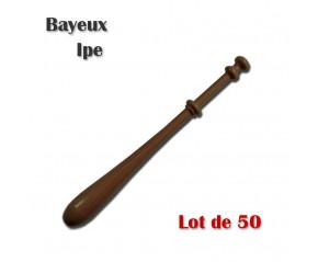 FUSEAUX BAYEUX IPE LOT DE 50
